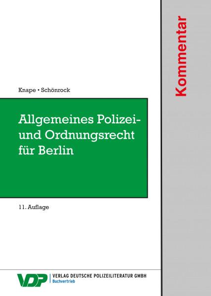 Allgemeines Polizei- und Ordnungsrecht für Berlin