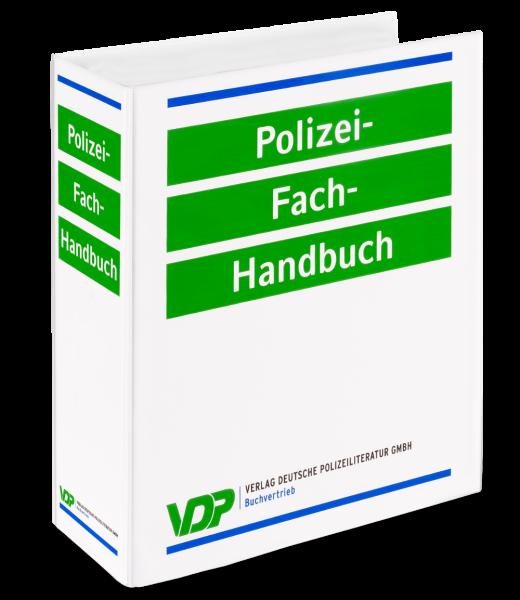 Polizei-Fach-Handbuch: Sonderordner (4 cm) zum Mitführen einzelner Gesetze