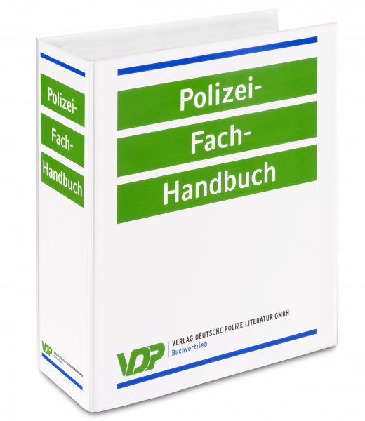 Polizei-Fach-Handbuch: Leerordner Band 2