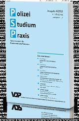 Polizei - Studium - Praxis (4/2020)
