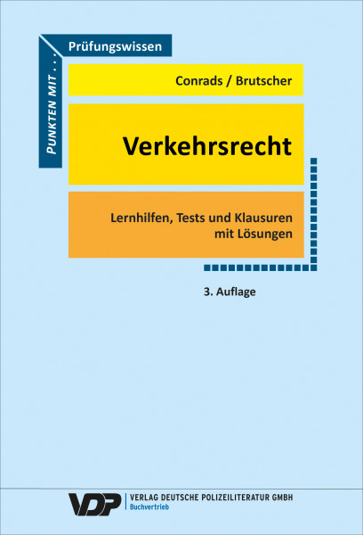 Prüfungswissen Verkehrsrecht